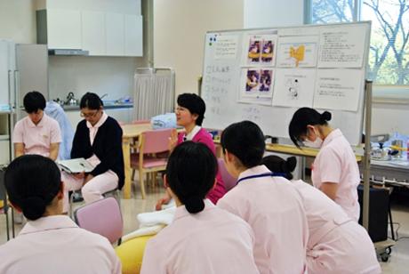 授業風景3「母性看護援助論Ⅱ」