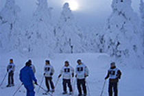 冬季定期訓練(2年、スキー訓練 )
