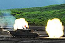 総合火力演習研修(3年)