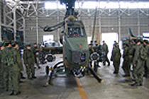 陸上自衛隊部隊実習(2年)